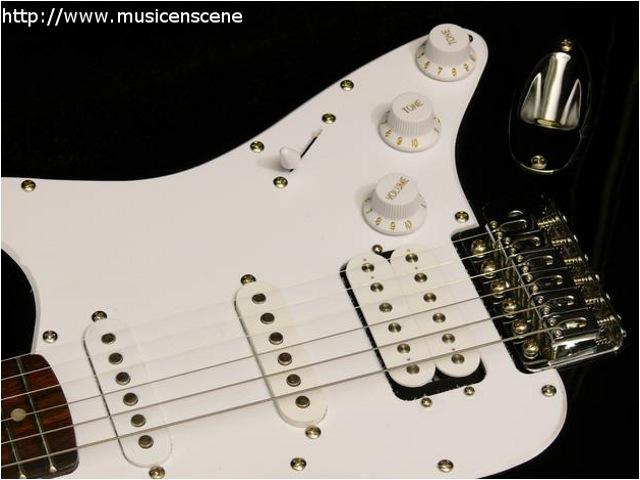 guitare electrique double micro